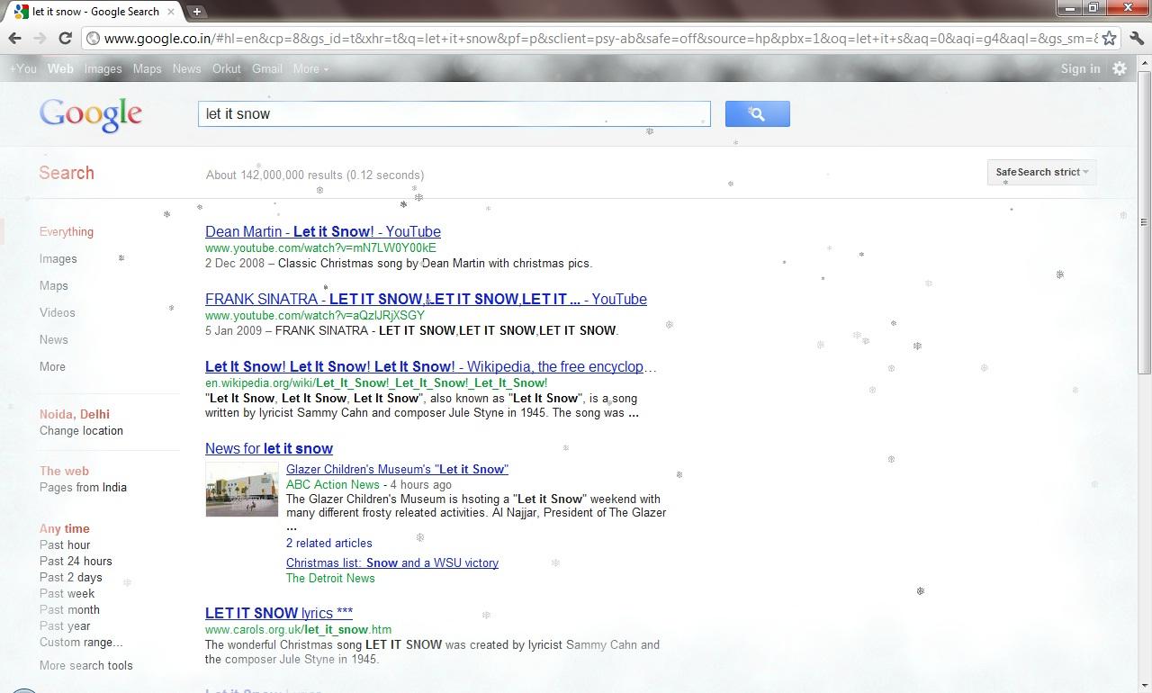 surprise me google
