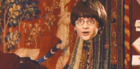 Harry Potter and the Invisibility Cloak