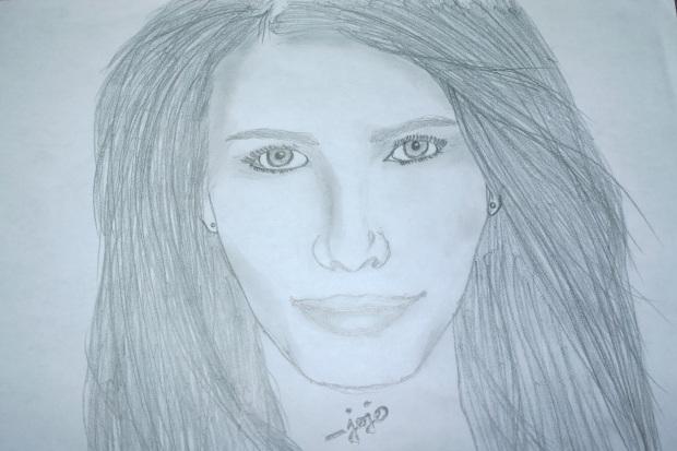 Emma Roberts Sketch